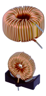 Iron-core (Yellow and white loop) Filter Inductance